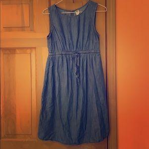 Old Navy Jean Maternity Dress